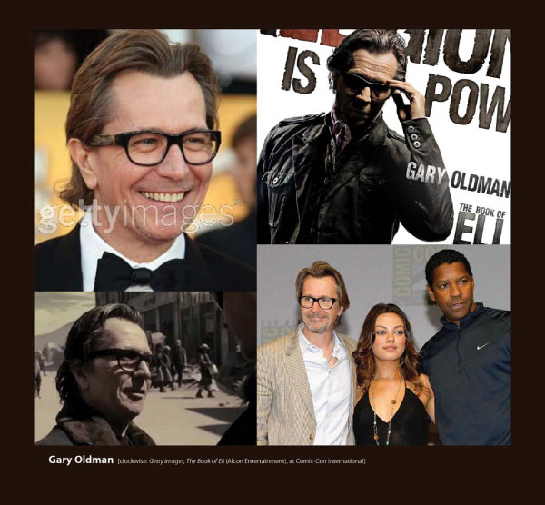 Gary Oldman in Eyeglasses by Sama Book of Eli