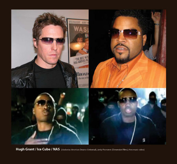 Hugh Grant, Ice Cub, NAS in Sunglasses by Sama