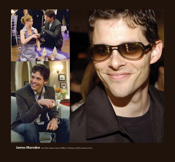 James Marsden in Sama Sunglasses