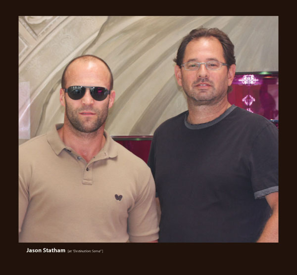 Jason Statham in Sama Sunglasses at Destination:Sama