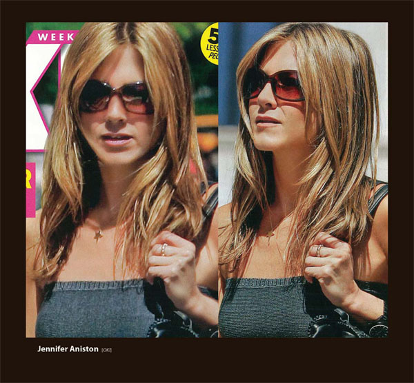 Jennifer Aniston in Sama Sunglasses