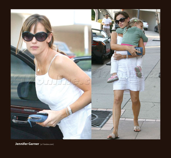 Jennifer Garner in Sunglasses by Sama