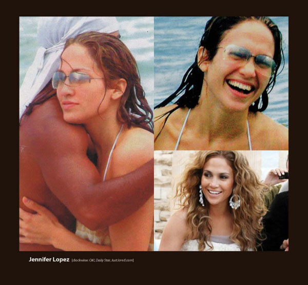 Jennifer Lopez in Sama Sunglasses