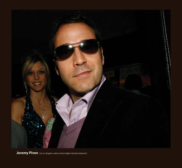 Jeremy Piven in Sunglasses by Sama