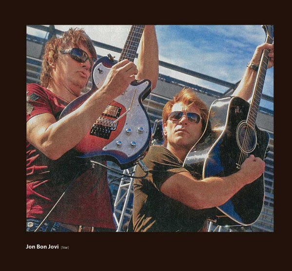 Jon Bon Jovi in Sama Sunglasses
