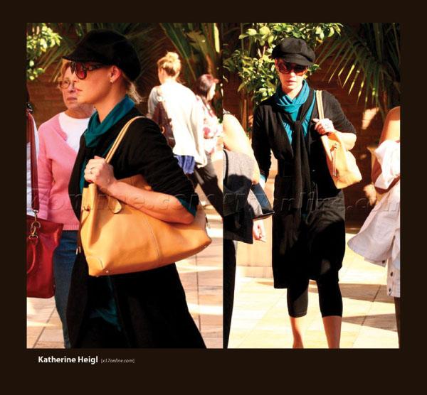 Katherin Heigl in Sama Sunglasses