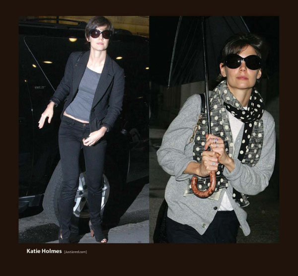 Katie Holmes in Sunglasses by Sama