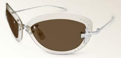 Loree Rodkin Scarlett Sunglasses with Custom Gold Inner Lenses