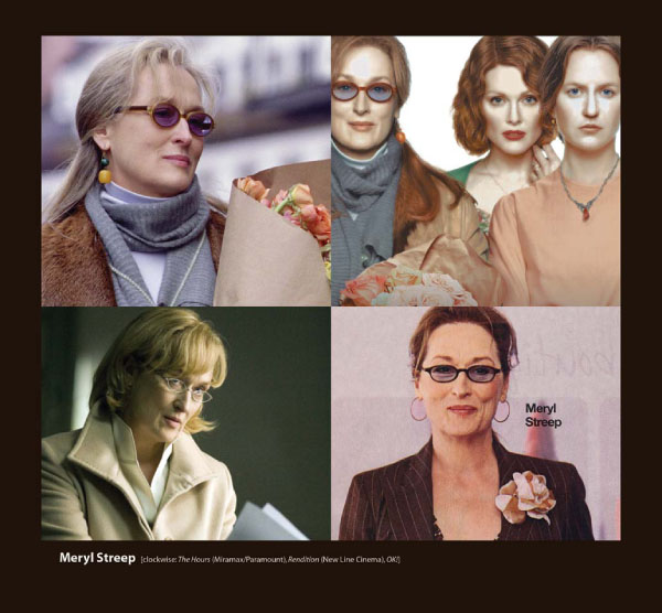 Meryl Streep in Eyeglasses by Sama