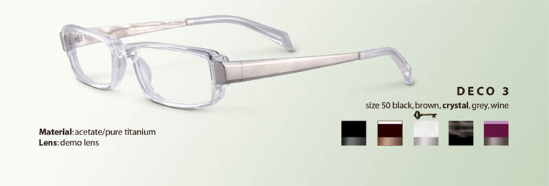 Mickey Rourke Eyeglasses in Iron Man 2: Deco 3 Eyeglasses from Sama