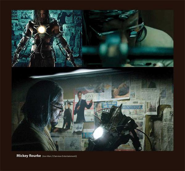 Sama Deco Eyeglasses featured on Mickey Rourke in Iron Man 2