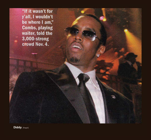 P Diddy in Sama Sunglasses