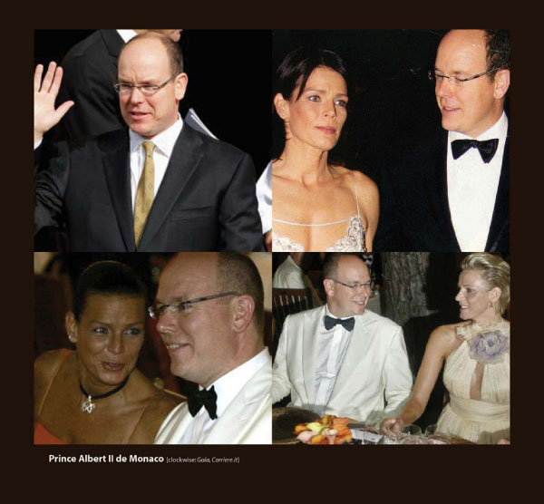 Prince Albert II of Monaco in Sama Eyeglasses
