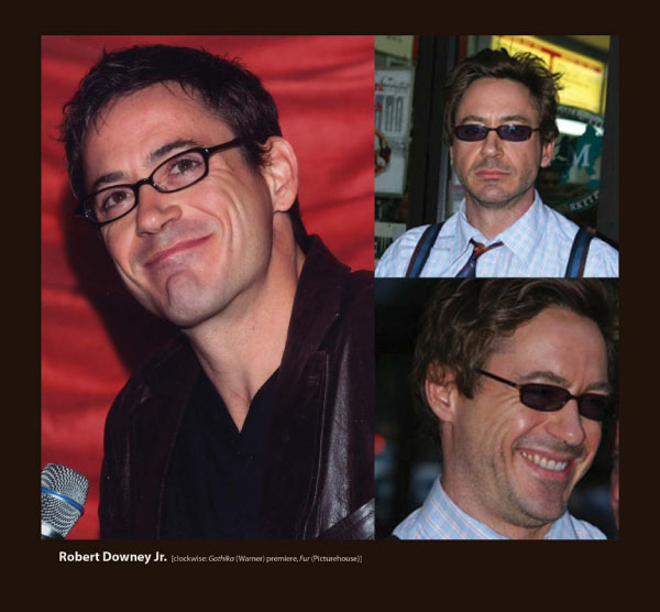 Robert Downey Jr in Sama Eyeglasses