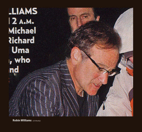 Robin Williams in Sama Eyeglasses