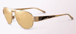 Sama Boa Sunglasses Special Edition 24K Gold Lenses