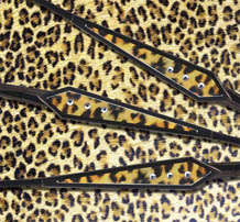 Sama Eyewear Materials and Technology: Leopard Print Temples