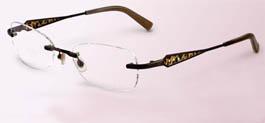 Sama Mix 3 Leopard with Stones Eyeglasses