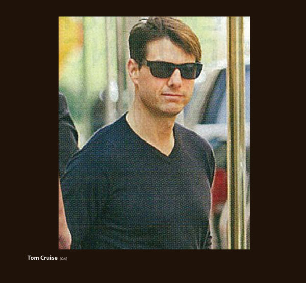 Tom Cruise in Sama Whisper Sunglasses