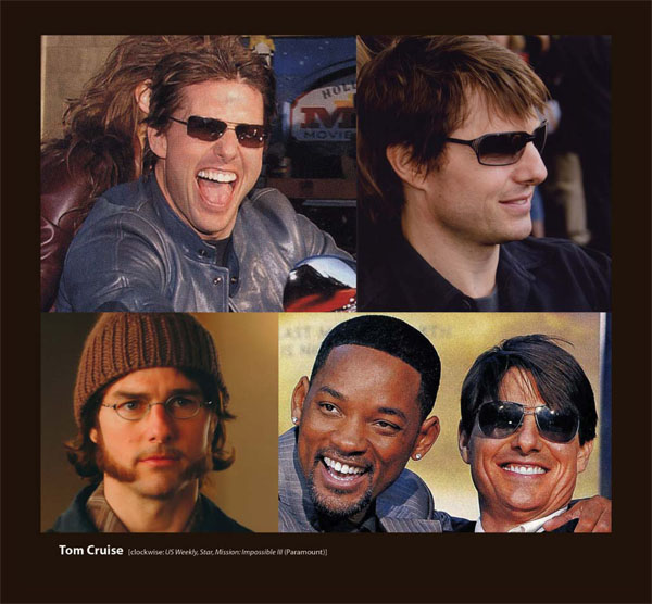 Tom Cruise in Sama Eyewear