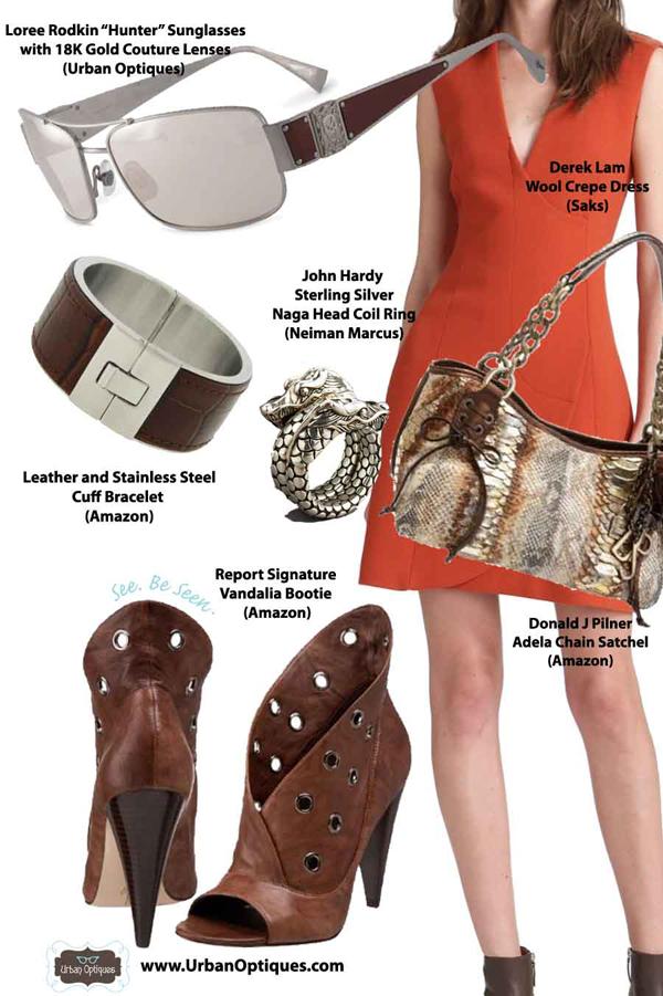 A Little Bit Mild: Featuring the Loree Rodkin Hunter Sunglasses