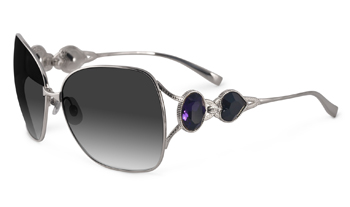 Sama Limited Edition Heart of Gold Regal Sunglasses