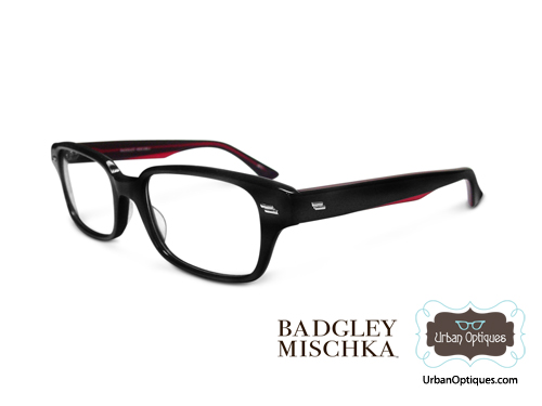 The Badgley Mischka Grant Eyeglass Frames Seen on Lindsay Lohan