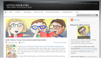 Little Four Eyes is a Website that Offers Tips, Tricks and Resources for Parents with Children in Glasses
