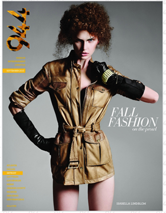 944 Detroit Magazine September 2010 Fall Fashion Issue