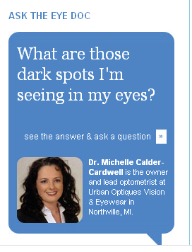 Ask The Eye Doc: What Are Those Dark Spots in My Eyes?