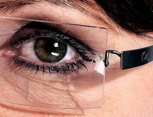 Sarah Palin Kawasaki 704 Eyeglasses Temple Detail
