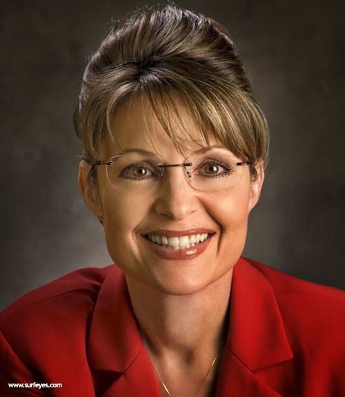 Sarah Palin in Oval Glasses
