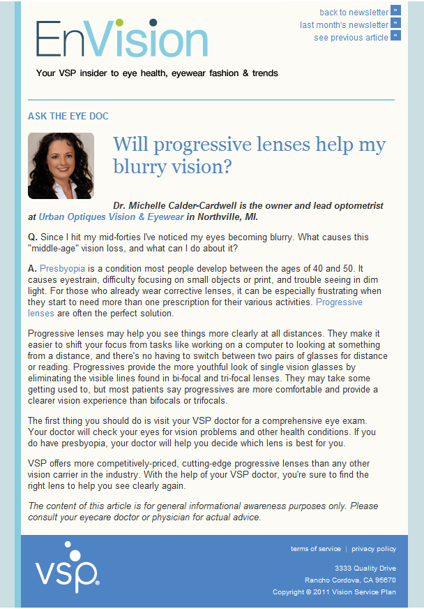 Ask The Eye Doctor: Will Progressive Lenses Help With Blurry Vision