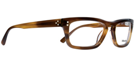 Blinde At Long Last Eyeglasses in Amber Striped Tortoise